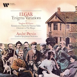 Elgar: 'Enigma' Variations / Vaughan Williams: Fantasia on a Theme by Thomas Tallis / Overture to 'The Wasps' by Edward Elgar ,   Ralph Vaughan Williams ;   London Symphony Orchestra ,   André Previn